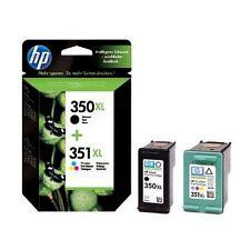 2 Genuine HP 350XL / 351XL Cartuchos De Tinta para Photosmart C4488 & más