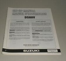 """Montageanleitung Suzuki DS 80 V Stand 07/1996 """""""