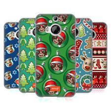 OFFICIAL EMOJI CHRISTMAS PATTERNS SOFT GEL CASE FOR HTC PHONES 2
