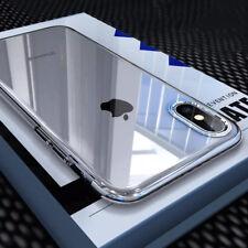HANDY HÜLLE + Curved PANZER FOLIE GLAS für iPhone X 10 SCHUTZ HÜLLE CASE Etui