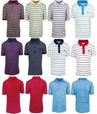 Nuevo Polo chicos manga corta camisetas a rayas Tops 18 meses a 14 años de edad
