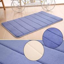 Thick vertical striped coral cashmere memory cotton carpet mattress mats  WT