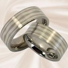 Eheringe Verlobungsringe Trauringe Hochzeitsringe 8 mm mit Silber mit Gravur