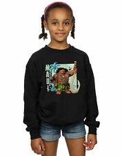 Disney Girls Moana Maui Sweatshirt