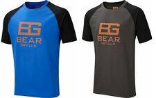 BEAR GRYLLS SHORT SLEEVED TECHNICAL TEE T-SHIRT QUICK DRY LIGHT WEIGHT NEW