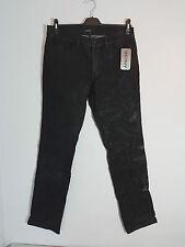 APRIORI Damen Hüft-Jeans,  USED KNITTER JEANS, MKL-661051, Schwarz, 36-44 neu