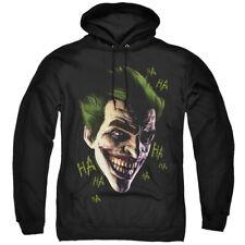 Batman Arkham Origins Hoodie Joker Grin Ha Ha Black Hoody