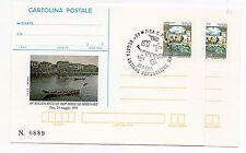 1995 REPUBBLICA IPZS 2 CARTOLINE POSTALI 40° REGATA ANTICHE REPUBBLICHE A/11092