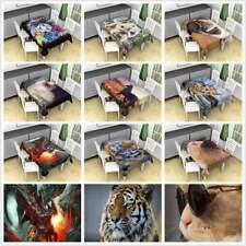 Animal Art Print Fashion Tablecloth Rectangular Table Cover Polyester Fabric