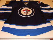 2011-12 Winnipeg Jets Blue Home Jersey NHL Hockey Reebok Adult 54 Pro Authentic