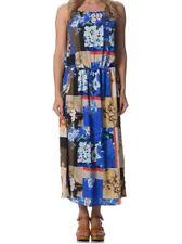 Women's Sleeveless Boho  Floaty Summer Maxi Dress Size 12, 14  NEW