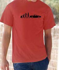 Evolution des Menschen, Mazda MX5 T-Shirt
