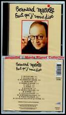 """BERNARD MABILLE """"Faut qu'j'vous dise"""" (CD) 1993 NEUF"""