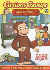 Curious George: Back to School Frank Welker, Jeff Bennett DVD