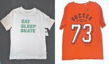 GapKids Boy T- Shirts White or Orange Sizes 6-7 or 8 NWT