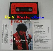 MC RICCARDO COCCIANTE Omonimo 1982 RCA ITALY PK 31623 no cd lp dvd vhs