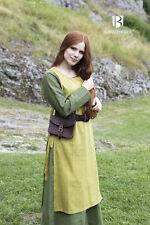 Mittelalter Überkleid Haithabu / Wikinger LARP - Safrangelb