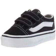 Vans VN-0D3YBLK:Old Skool V Toddler(Unisex) Skate Shoe Black