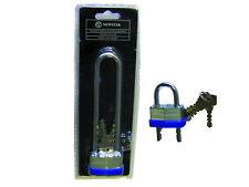 5 KEYS 45 mm Heavy Duty Adjustable Shackle Padlock Security Job Lot Qty 10