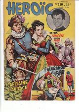 Héroïc n°110 - Récit complet SAGE 1954. Bel état