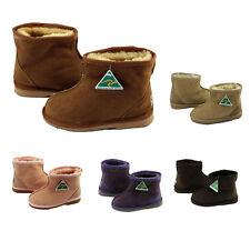 New Kids Ugg Ankle Boots 100% Australian Sheepskin Boys Girls Australian made