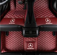 Fit Mercedes-Benz S320 S350 S400 S430 S450 S500 S550 S600 Waterproof Floor Mats