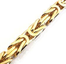 Königskette vergoldet o. Gold Doublé Maße wählbar Halskette Damen Herren-Schmuck