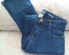 Girls' SO Skinny Blue Denim Jeans/Adjustable Waist Size 7 NWT