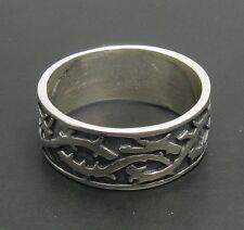 Sterlingsilber Ring Band Stacheldraht massiv 925 r000147 Empress