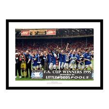 Everton FC 1995 FA Cup Final Team Photo Memorabilia