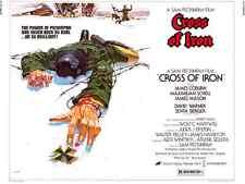 Cross Of Iron movie poster - James Coburn, Sam Peckinpah : 12 x 16 inches