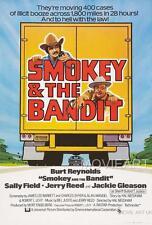SMOKEY AND THE BANDIT VINTAGE MOVIE POSTER FILM A4 A3 ART PRINT CINEMA