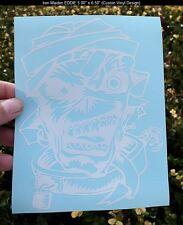 """6.5"""" Iron Maiden Crazy EDDIE Mental Patient Vinyl Decal Sticker Car/Truck Window"""