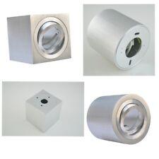 Aluminium Deckenaufbauleuchte Deckenleuchte Strahler Decken-Spot GU10 230V