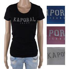 Tee shirt kaporal Femme manches courtes PICK divers coloris