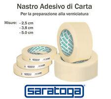 Nastro adesivo carta bordatura verniciatura carrozziere 2,5 3,8 5 cm Saratoga