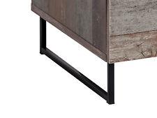 Möbelfüsse Möbelfüße Metall 2 STK Anthrazit 350mm x 90mm x 40mm 35cm x 9cm x 4cm