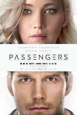 PASSENGERS MOVIE POSTER FILM A4 A3 ART PRINT CINEMA