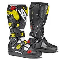 SIDI | Crossfire 3 SRS Stivali Fuoristrada Mx Motocross Enduro Nero Giallo