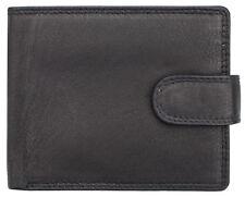 7025 Gents Mens Prime Hide Leather Wallet Note Case Purse Credit Cards Holder