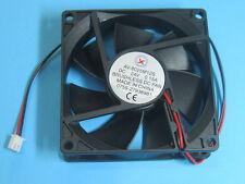 8 pcs Brushless DC Cooling Fan 24V 8025S 7 Blades 80x80x25mm 2pin Sleeve-bearing
