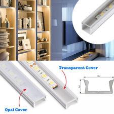 Canal de aluminio de 0.9 M para Tira de Luz LED con perfil de PVC Cubierta para 5050 3528