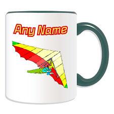 Cadeau personnalisé coloré hang glider mug tasse tirelire tasse deltaplane aile pilote