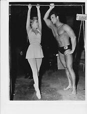 Jane Powell Steve Reeves barechested RARE Photo Athena