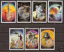FUJEIRA # 456A-62A MNH APOLLO 13 SPACE EXPLORATION