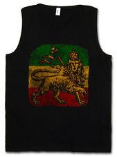 LION OF JUDAH III TANK TOP Bob Rasta Reggae Marley Jamaica Rastafari Irie Ska