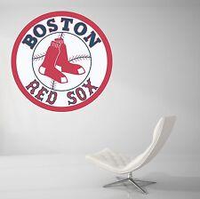 Boston Red Sox Baseball MLB Wall Decal Vinyl Decor Room Car Sticker Art J64