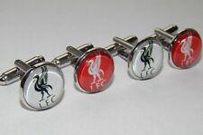 Liverpool Football Club logo cufflinks FC Liverpool soccer cuff links team