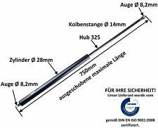 Gasdruckfeder Gasfeder Pferdeanhänger Heckklappe Druck 750 N - 1500 N - 2500 N
