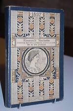 ALMANACH Hachette 1897 + carte vélocipédique